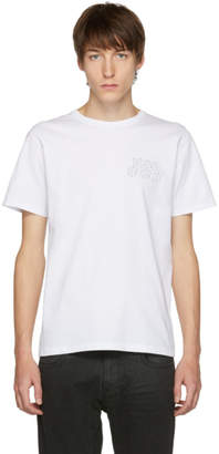Saturdays NYC White Condensed Wave T-Shirt