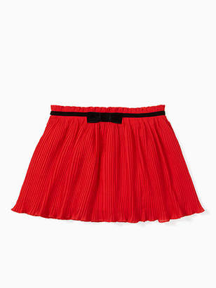 Kate Spade Toddlers pleated chiffon skirt