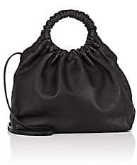 The Row Women's Double-Circle Medium Bag - Black