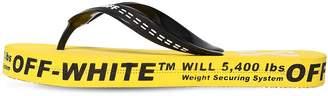 Off-White Logo Rubber Flip Flops