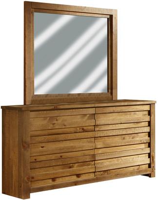 Progressive Furniture Drawer Dresser And Mirror