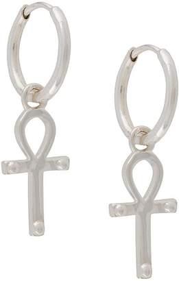 Rachel Jackson Key of Life hoop earrings