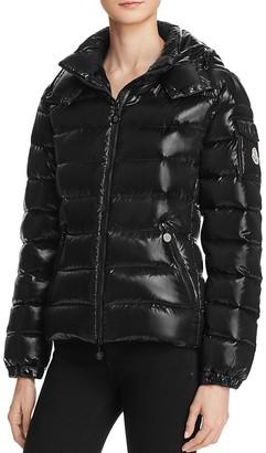 Moncler Bady Slim Short Down Jacket $1,045 thestylecure.com