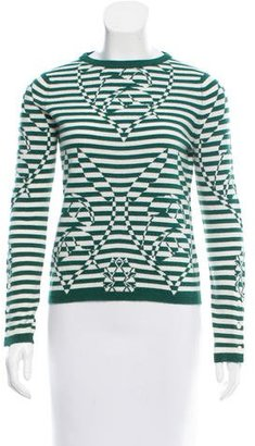 Thom Browne Striped Cashmere Sweater $295 thestylecure.com