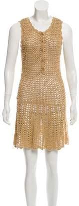 Melissa Odabash Knit Mini Dress