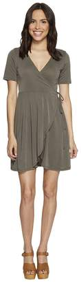 Culture Phit Aerin Short Sleeve Wrap Dress Women's Dress