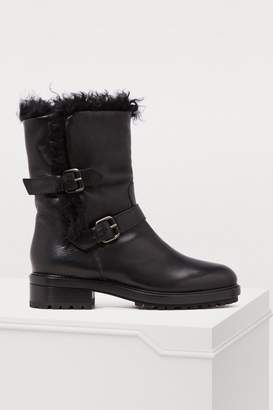Sartore Rangers fur ankle boots