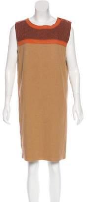 Magaschoni Wool Sheath Dress w/ Tags