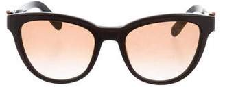 Salvatore Ferragamo Cat-Eye Logo Sunglasses