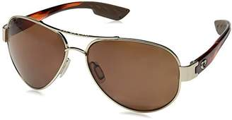 Costa del Mar South Point Polarized Aviator Sunglasses