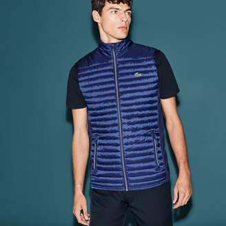 Lacoste Men's SPORT Golf Water-resistant Quilted Vest