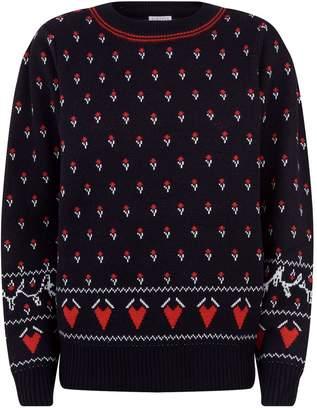 Claudie Pierlot Alpine Knit Sweater