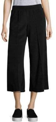 ATM Anthony Thomas Melillo Terry Cropped Wide Leg Pants