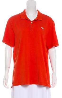 Lacoste Collared Short Sleeve