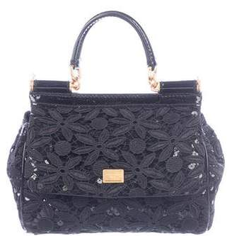 Dolce & Gabbana Guipure Lace Miss Sicily Bag