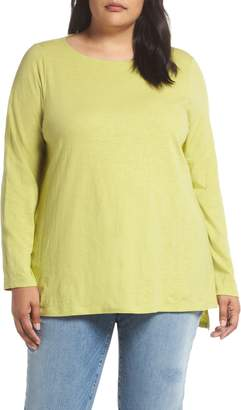 Eileen Fisher Organic Cotton Jersey Top