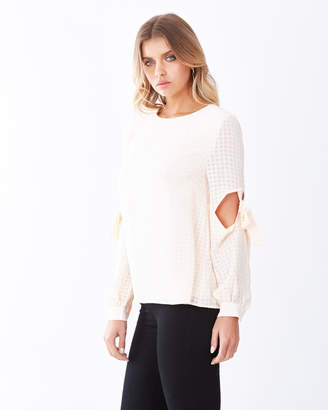 Malmo Tie Detail Top