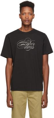Saturdays NYC Black Middle Script T-Shirt