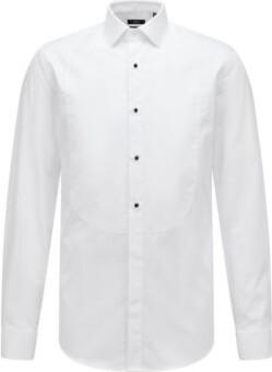 BOSS Hugo Easy-Iron Tuxedo Shirt Jant 15 White