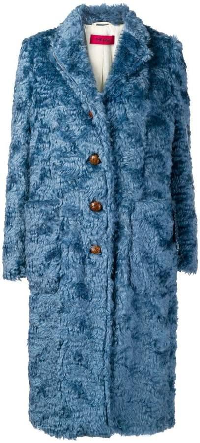 The Gigi single-breasted shearling coat