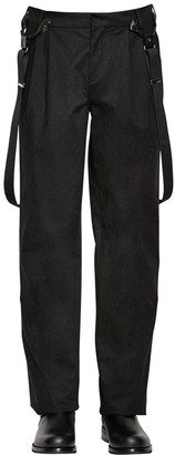 Moschino Cotton Pants W/ Suspenders