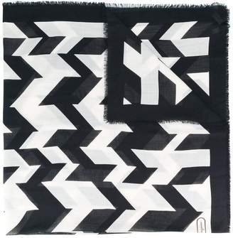 Salvatore Ferragamo geometric print scarf