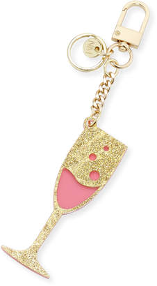 Neiman Marcus Bubbly Champagne Acrylic Keychain