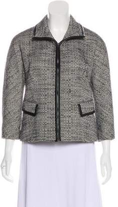 Lafayette 148 Tweed Long Sleeve Blazer