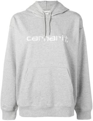 Carhartt Heritage logo embroidered hoodie