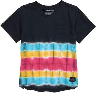 Munster Monster Tie Dye T-Shirt
