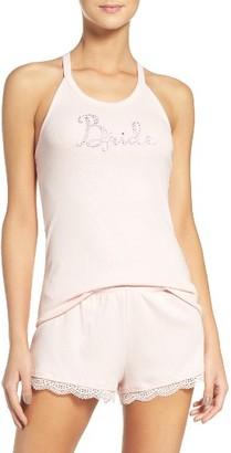 Women's Betsey Johnson Bride Short Pajamas $48 thestylecure.com