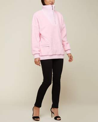 Juicy Couture Sherpa Half Zip Pullover