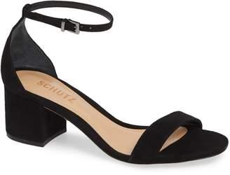 Schutz Chimes Ankle Strap Sandal