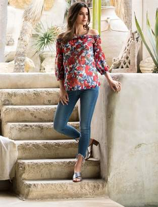 Articles of Society Secret Fit Belly Carly Crop Maternity Jeans