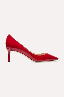 Jimmy Choo Romy 60 Patent-leather Pumps - Red