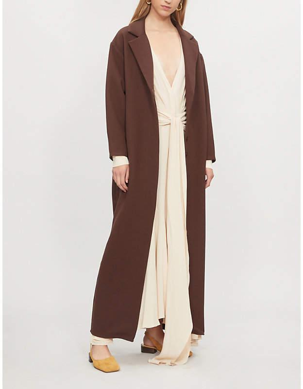 Jacquemus Le Manteau Almar wool-blend coat