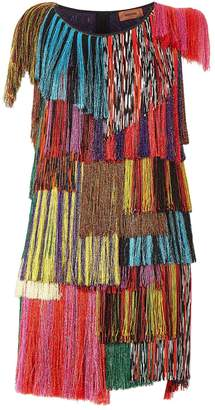 Missoni Fringe Mini Dress