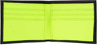 Nike Men's Colorblock Leather Billfold Wallet, Yellow/Black