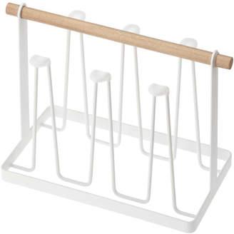 "Yamazaki Home Steel & Wood Glass/Mug Stand ""Tosca"""