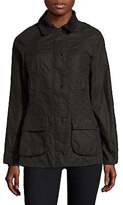Barbour Women's Classic Beadnell Waxed Cotton Jacket