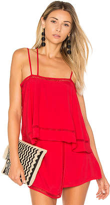Lovers + Friends Summer Glow Top in Red $118 thestylecure.com