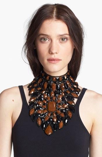 Haute Hippie Jeweled Statement Collar