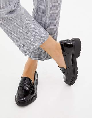 Aldo leather flat loafers