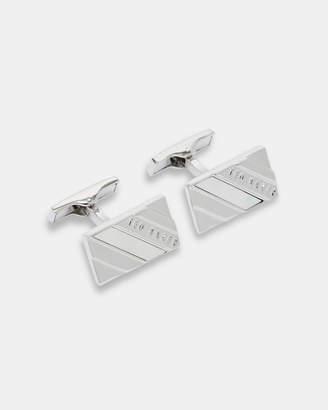 Ted Baker CEASER Semi-precious striped cufflinks