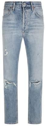 A Gold E Agolde Jamie High Rise Jeans