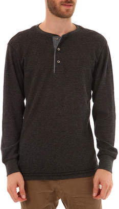 Px Clothing Men's Harper Thermal Henley Shirt