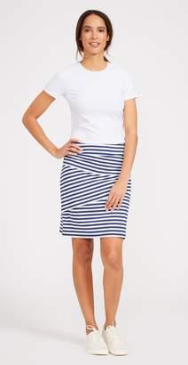 J.Mclaughlin Nicola Skirt In Bangle Stripe