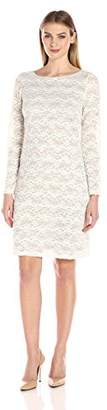 Jessica Howard Women's Lace Shift With Sequins