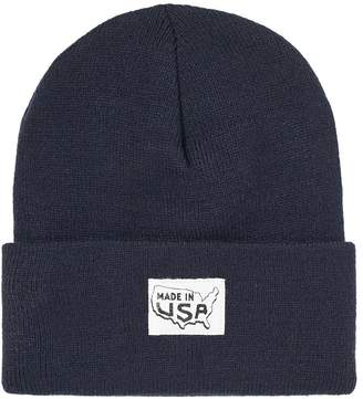 c1b20a7f675 Save Khaki Made in USA Patch Beanie Hat