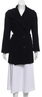 Kenzo Wool Blend Short Coat